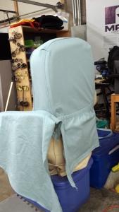 Crosby slipcover in progress 1