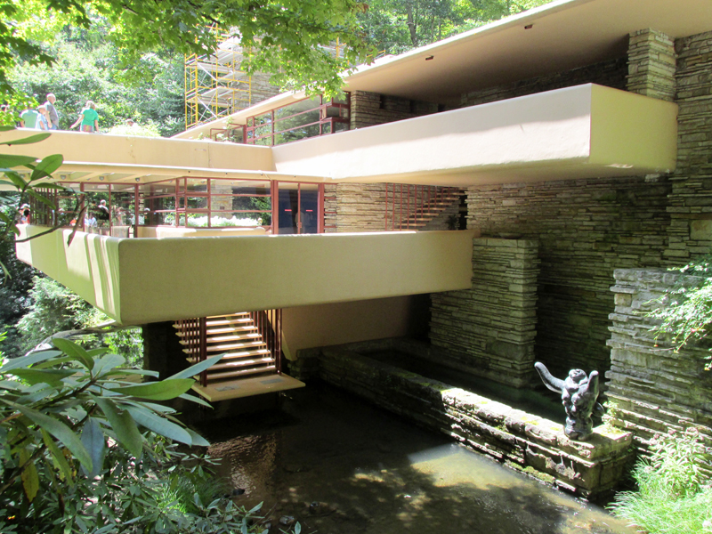 Fallingwater And The Kindness Of Strangers Mighty Bus