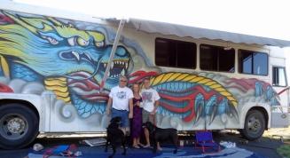 Jim & Wendy with Eddie, Zoey & I