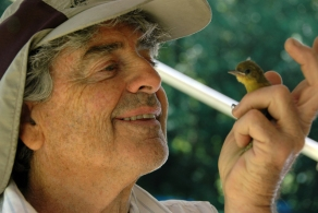 Eric and the baby oriole