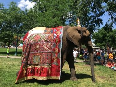 Peg the elephant