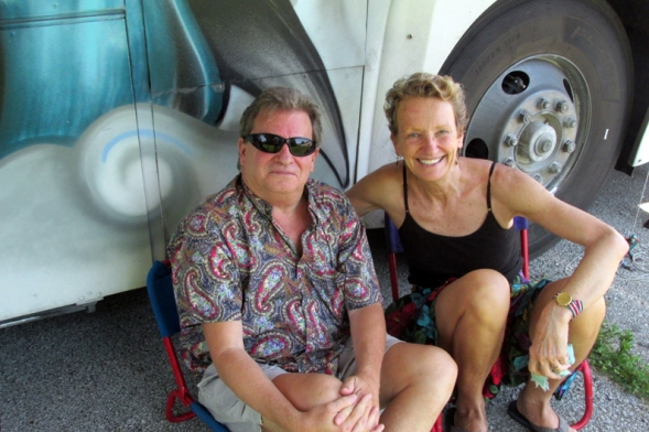 Bob and me. We go way back.