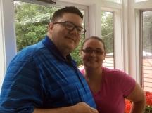 Colin and Amanda