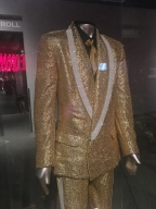 Gold suit made for Elvis. He never wore it.