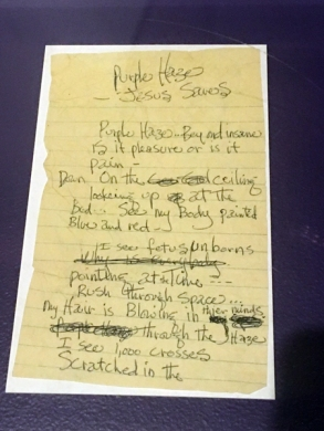 Purple Haze lyrics