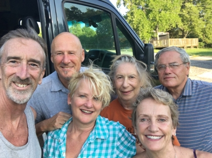 Jim, Peter, Theresa, Betsy, Ralph and me